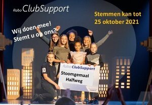 Stem op Stoomgemaal via Rabo Club Support